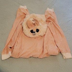 Llama onesie pijamas
